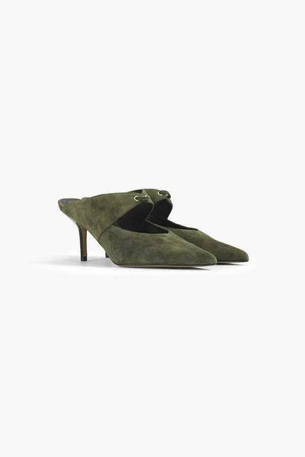 Genuine People Suede Pointed Heels