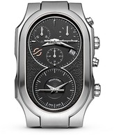Philip Stein Teslar Signature Dark Grey Chronograph Stainless Steel Watch Head, 38mm