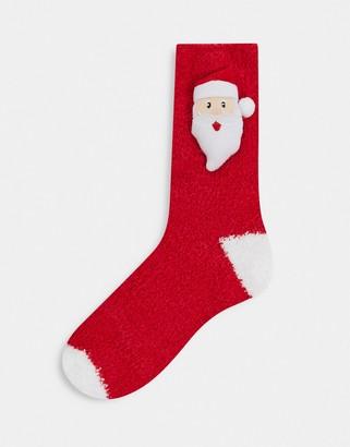 Loungeable santa sock in a box