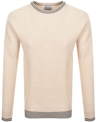 Les Deux Franklin Pineapple Knit Jumper Cream