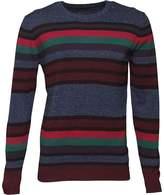 Diesel Mens K-Calib Crew Neck Sweater Blue Melange