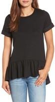 Gibson Women's Ruffle Hem Sweatshirt