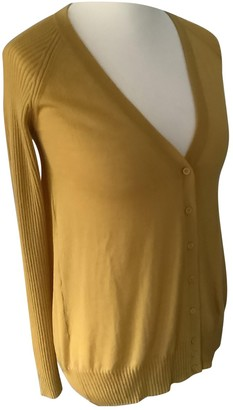 Non Signé / Unsigned Non Signe / Unsigned Gold Wool Knitwear for Women