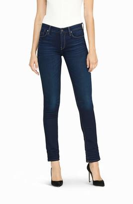 Hudson Women's Nico Mid Rise Slim Straight Leg Ankle Jean