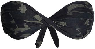 Melissa Odabash Martinique Twist-front Printed Bandeau Bikini Top