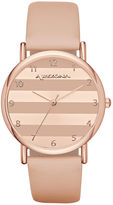Arizona Womens Pink Strap Watch-Fmdarz133