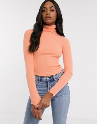 Fashion Union knitted roll neck jumper