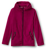 Classic Little Girls Softest Fleece Jacket-Bright Teaberry