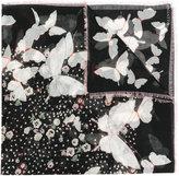 Valentino Garavani Valentino Pop Butterflies scarf - women - Silk/Cashmere - One Size