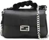 Fendi micro 'Double Baguette' crossbody bag - women - Leather/Brass - One Size
