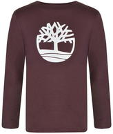 Timberland Children Boys Long Sleeved Logo T Shirt
