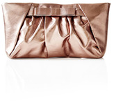 The Limited Metallic Bow Clutch