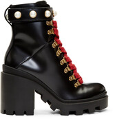Thumbnail for your product : Gucci Black Trip Boots