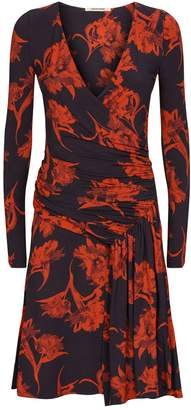 Roberto Cavalli Floral Wrap Dress