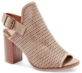 New York & Co. Perforated Buckle Sandal