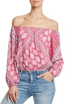 Show Me Your Mumu Lima Off-the-Shoulder Top