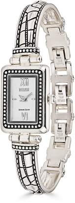 Croco Ecclissi Sterling Design Bangle Watch