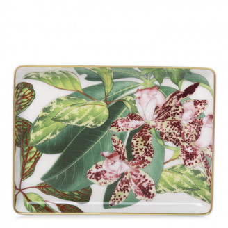 Porcelain Small Passifolia Tray N1