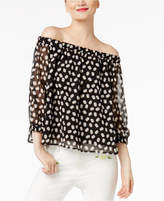 Cynthia Rowley CR By Off-The-Shoulder Top, Created for Macy's