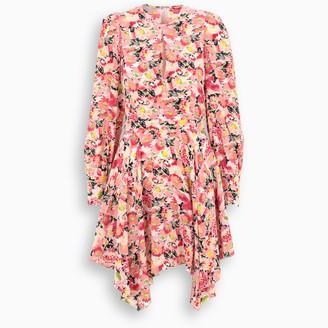 Stella McCartney Multicolour pink Felicity short dress