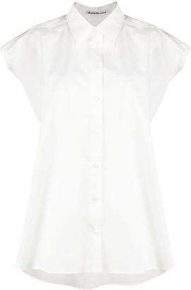 Acne Studios Oversized Sleeveless Shirt