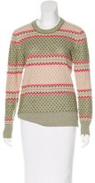 Suno Patterned Alpaca Sweater
