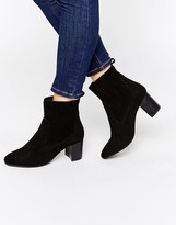 Carvela Suede Kitten heel Boot