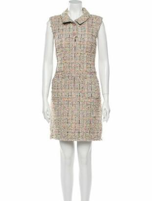 Chanel 2014 Mini Dress Grey