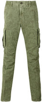 Incotex printed cargo trousers