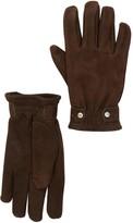 UGG Leather Faux Fur Randel Gloves