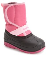 Kamik Pika Waterproof Faux Fur Lined Snow Boot (Walker & Toddler)