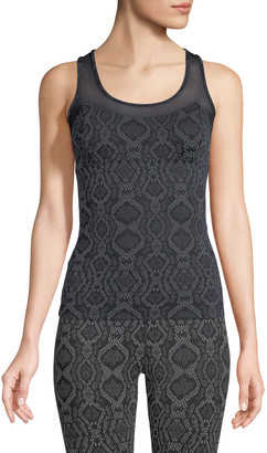 Varley Vidora Vest Sleeveless Printed Top