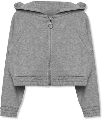 M&Co Grey zip up hoodie (3-12yrs)