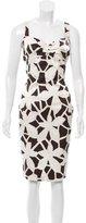 Diane von Furstenberg Knee-Length Silk Dress