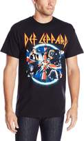 FEA Men's Def Leppard Shattered Group Photo T-Shirt