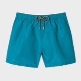 Paul Smith Men's Turquoise Swim Shorts