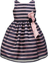 Jayne Copeland Shadow Stripe Special Occasion Dress, Big Girls (7-16)