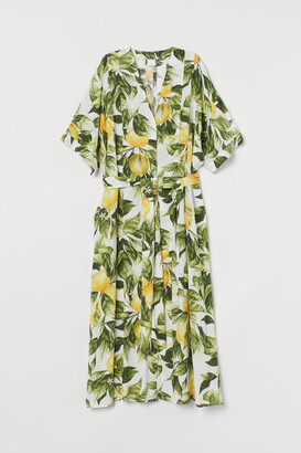 H&M Kaftan Dress - White