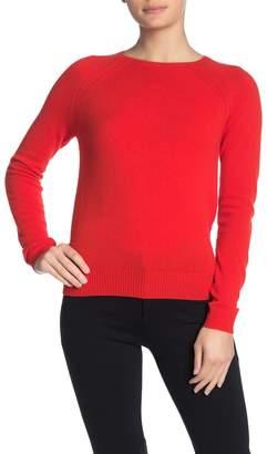 Kier & J Pointelle Raglan Cashmere Sweater