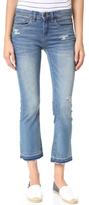 Blank Released Hem Cropped Jeans