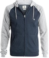 Quiksilver Men's Major Block Zip Fleece Hoodie