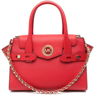 MICHAEL Michael Kors Carmen leather satchel