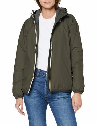 K-Way Women's Le VRAI 3.0 Claudette Padded Waterproof Jacket