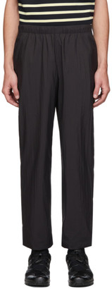 N.Hoolywood Black Nylon Trousers
