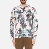 Ps By Paul Smith Long Sleeve Printed Sweatshirt Pink