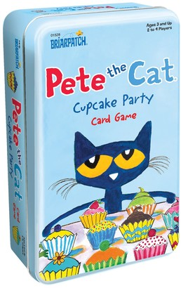 University Games Pete the Cat - Cupcake Party Tin