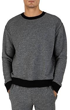 ATM Anthony Thomas Melillo Panel Crewneck Sweatshirt