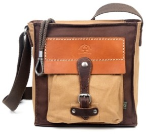 Tsd Brand Hidden Woods Canvas Crossbody Bag
