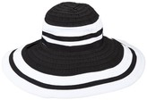 Scala Ribbon Big Brim Hat