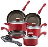 Paula Deen Signature Dishwasher Safe Nonstick 11-Piece Cookware Set